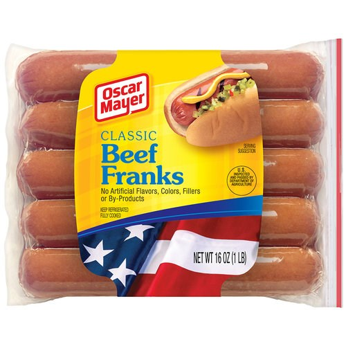 Oscar Mayer Classic Beef Franks were a top pick of the tasting panel.