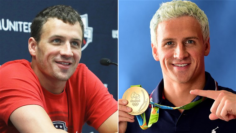Ryan Lochte hair 2016