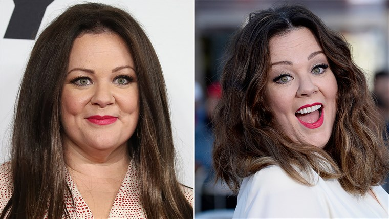Melissa McCarthy hair transformation