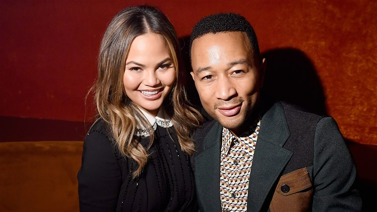 كريسي Teigen and John Legend
