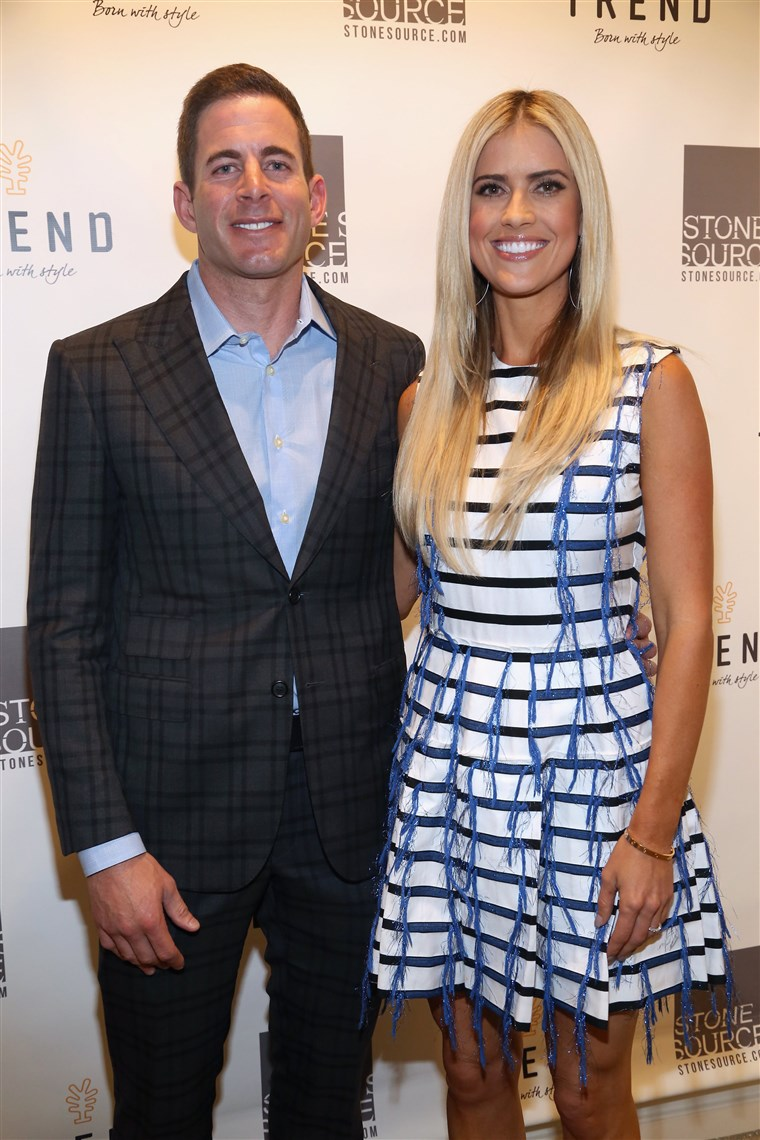 Изображение: Tarek and Christina, TV's Favorite House Flippers, Featured at TREND/Stone Source Event in New York