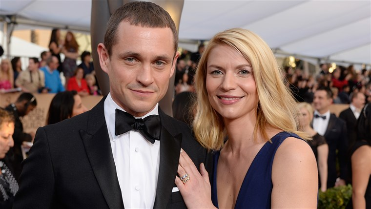 Claire Danes and Hugh Dancy at the 2016 SAG Awards