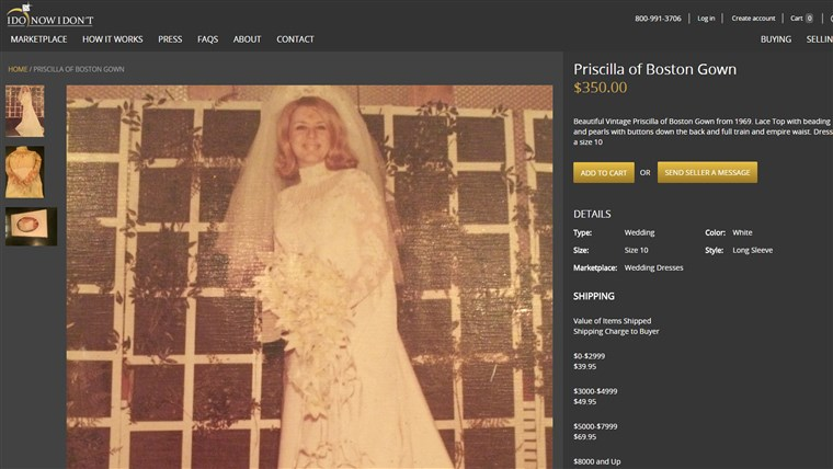 Bild: wedding dress for sale