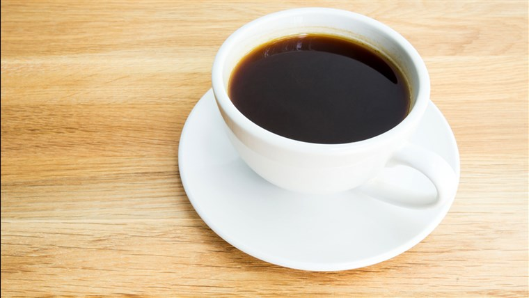черно coffee on wooden table; Shutterstock ID 188572103; PO: today.com