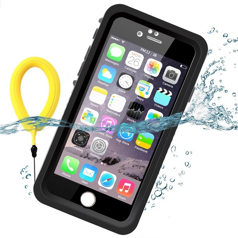плаващ waterproof case in black