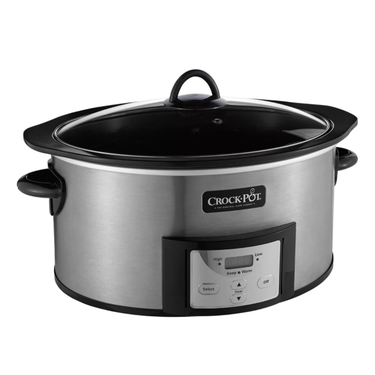 حديث Crock-Pots feature removable interior pots that can be separated from the electric unit for washing.