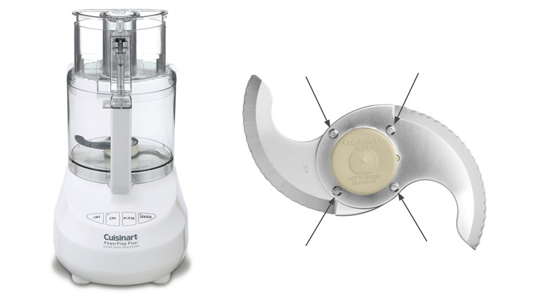 Küchenmaschine Food Processors Recalled by Conair Due to Laceration Hazard
