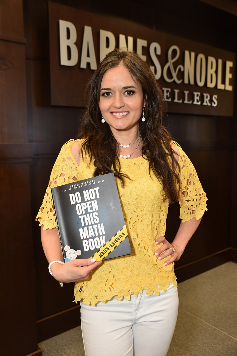 Danica McKellar Celebrates Her New Book