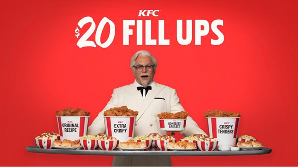 Jason Alexander is the new face of KFC and he's slinging a new selection of value meals from the chicken chain.