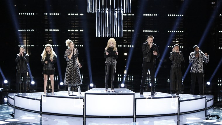 Pentatonix, Miley Cyrus, Dolly Parton on the Voice