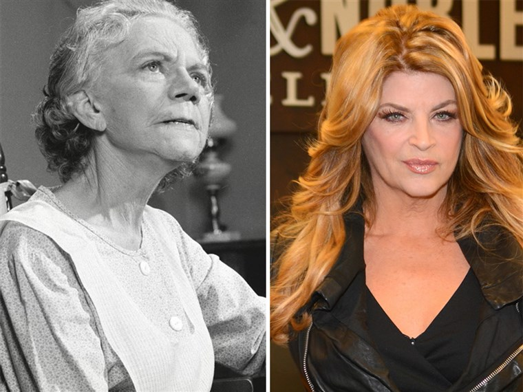 Елън Corby, left, and Kirstie Alley, right, show how different 60 looks these days.
