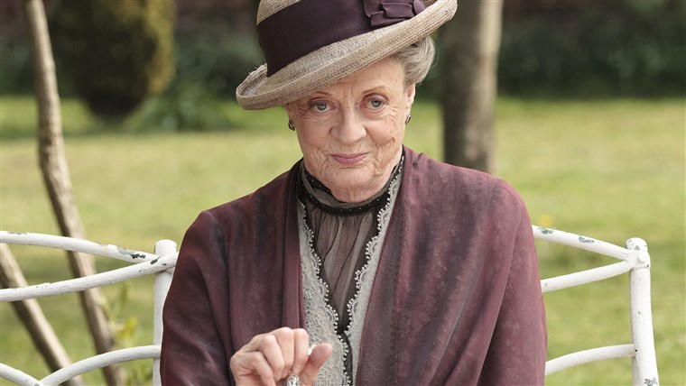 劣质煤 Smith as the Dowager Countess Grantham