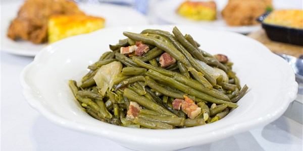 萨凡纳's Mom's Kentucky Wonder Green Beans with Bacon