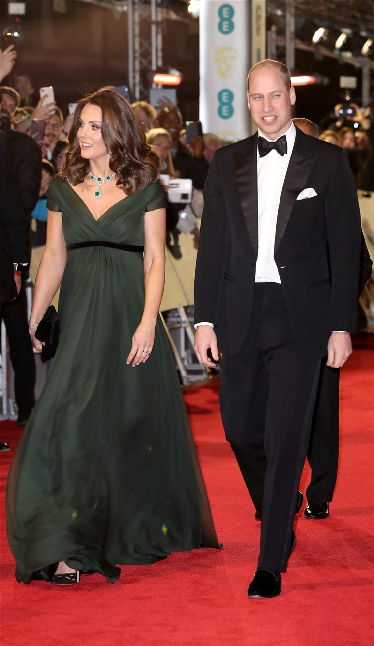 صورة: BRITAIN-ENTERTAINMENT-FILM-AWARDS-BAFTA-ROYALS