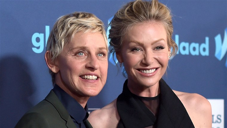 Ellen DeGeneres and wife Portia de Rossi