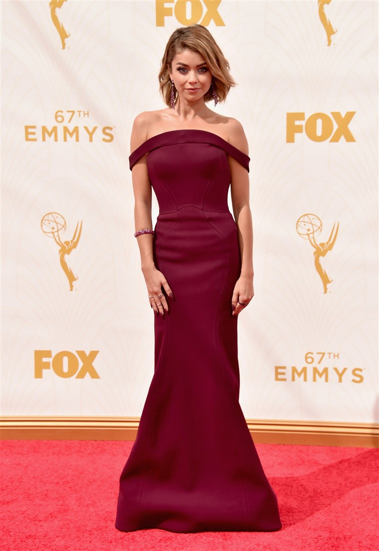 Emmy Awards red carpet