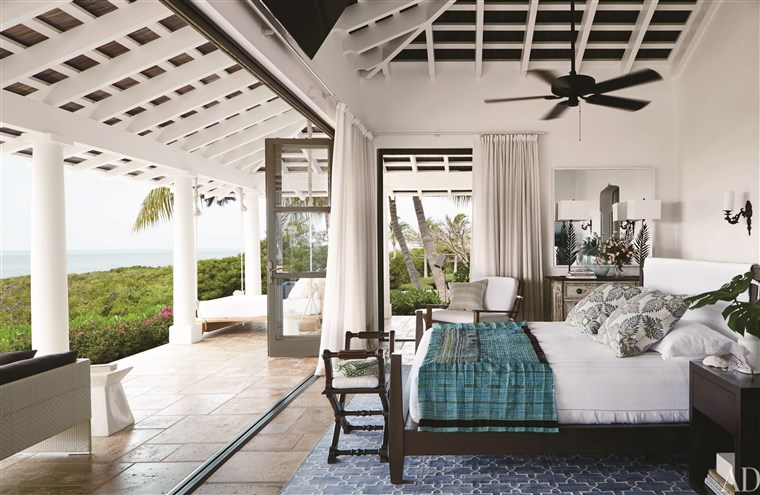 Glauben Hill and Tim McGraw's master bedroom