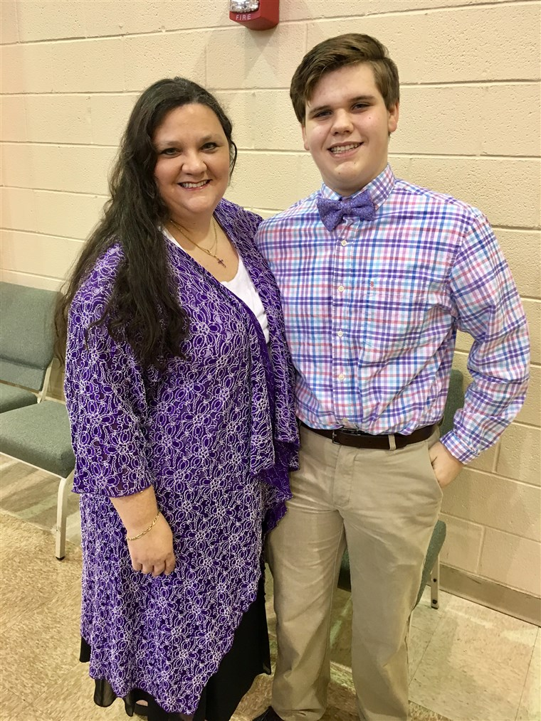 Po a trip to the beach a month ago, Michael, 17, has been battling a serious hookworm infection. Mom, Kelli Dumas, wants to raise awareness about it.