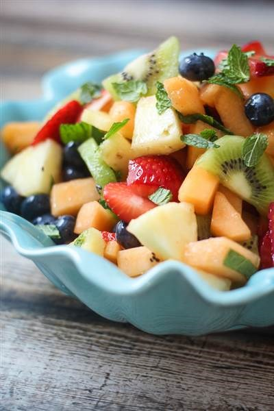 пиян fruit salad from The Wanderlust Kitchen