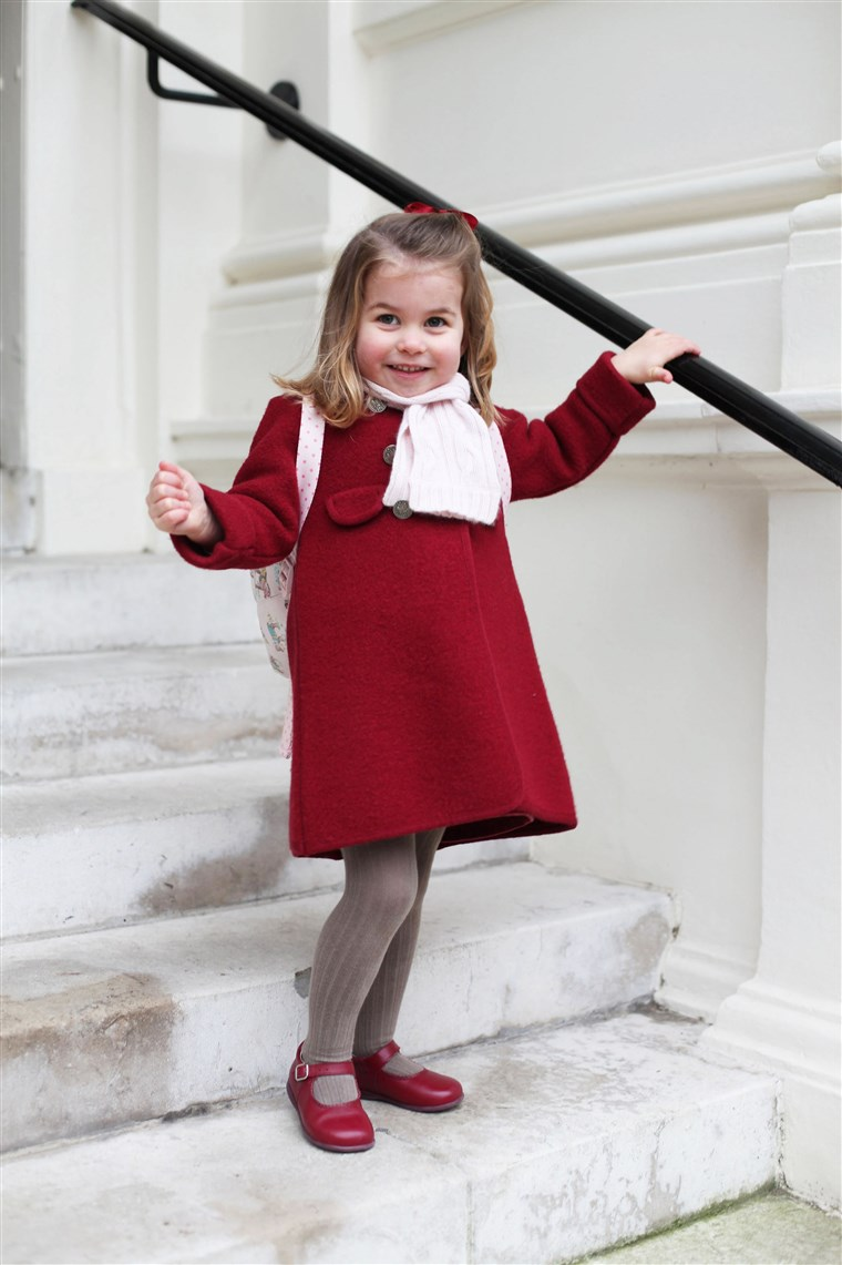Obraz: Princess Charlotte attends nursey
