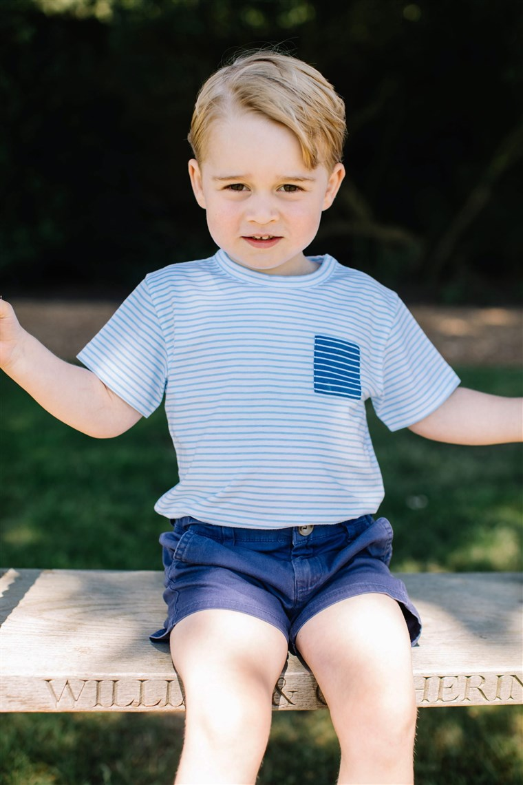 Británie's Prince George made Tatler's Best Dressed List