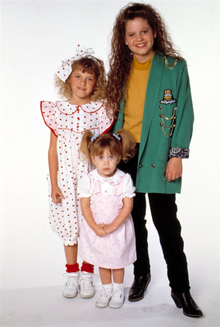 VOLL HOUSE, Jodie Sweetin, Candace Cameron, Ashley/Mary-Kate Olsen, 1989, Season 3. 1987 - 1995. (c)