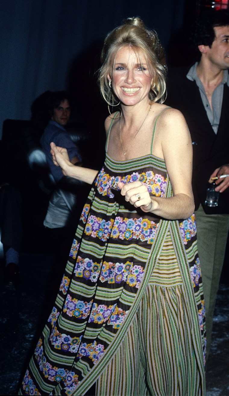 Suzanne Somers at Studio 54