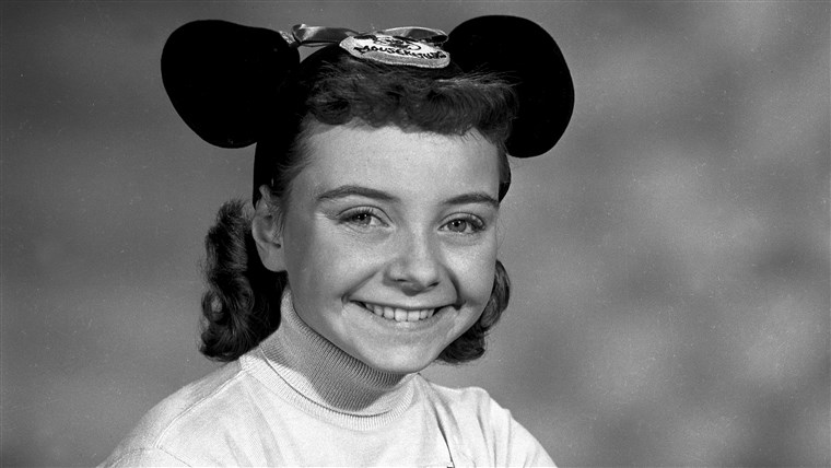 Dies undated photo shows Disney Mouseketeer Doreen Tracey. Tracey, a former child star who played one of the original cute-as-a-button Mouseketeers on