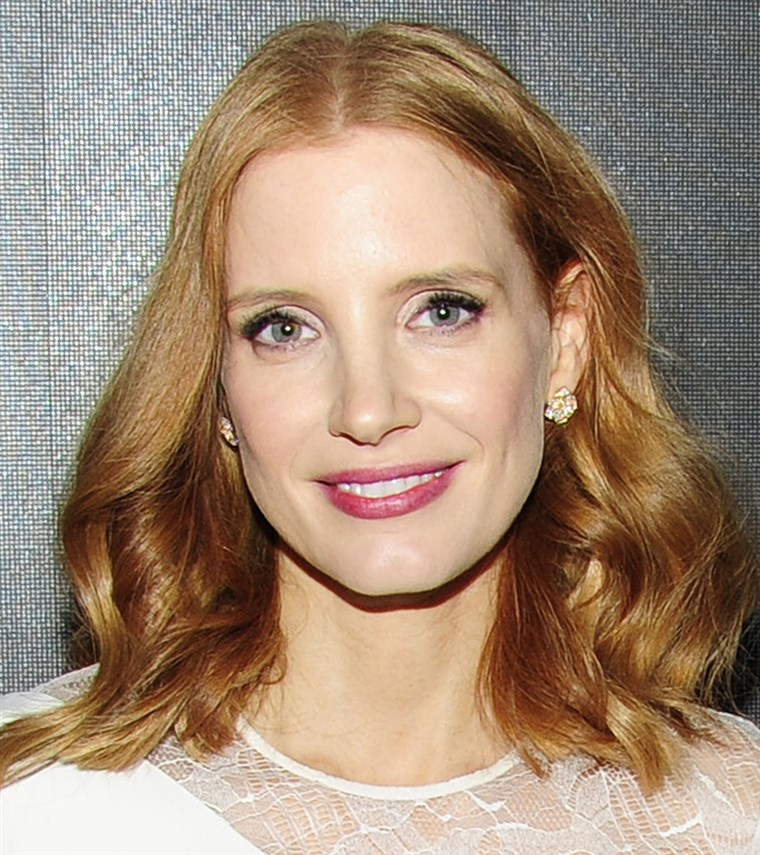 杰西卡 Chastain hair