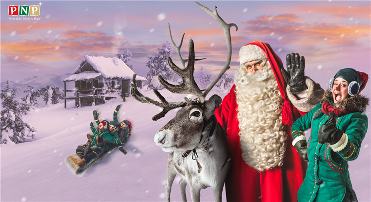 S the Portable North Pole (PNP) app, parents can send their kids personalized videos from Santa.