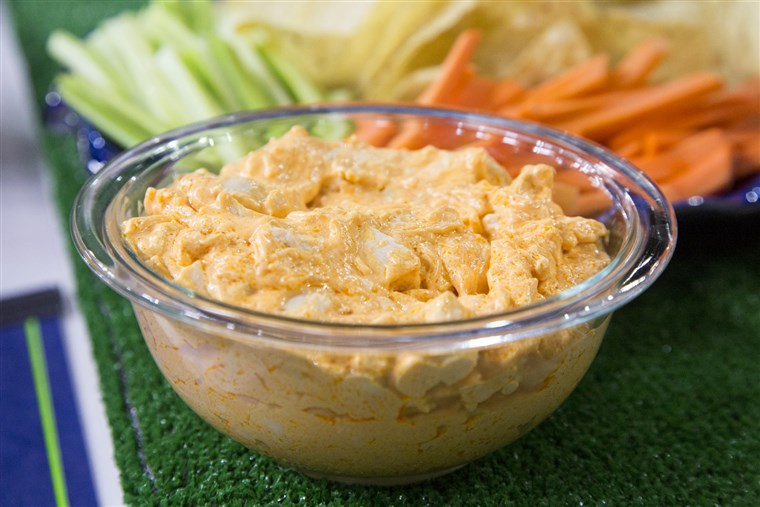 اليوم Show: Brandi Milloy cooks Super Bowl dips on January 28, 2015.