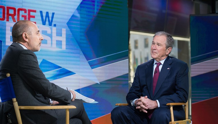 乔治 W. Bush on TODAY