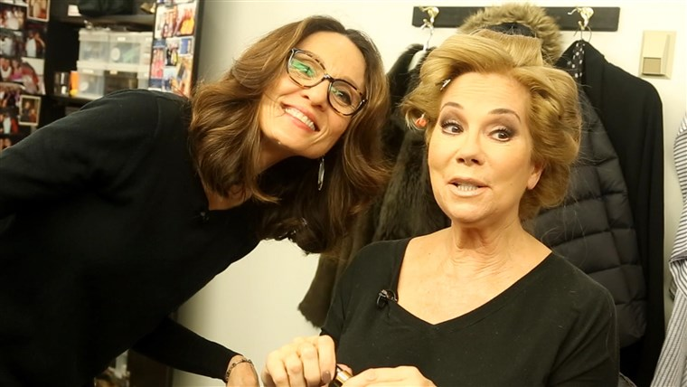 HEUTE makeup artist Mary Kahler creates Kathie Lee's stunning beauty look each morning.