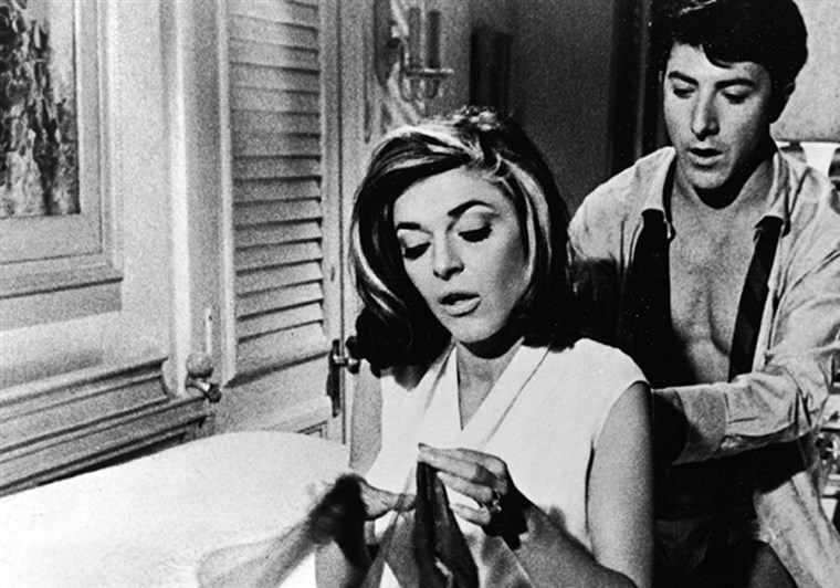 Hoffman & Bancroft In 'The Graduate'
