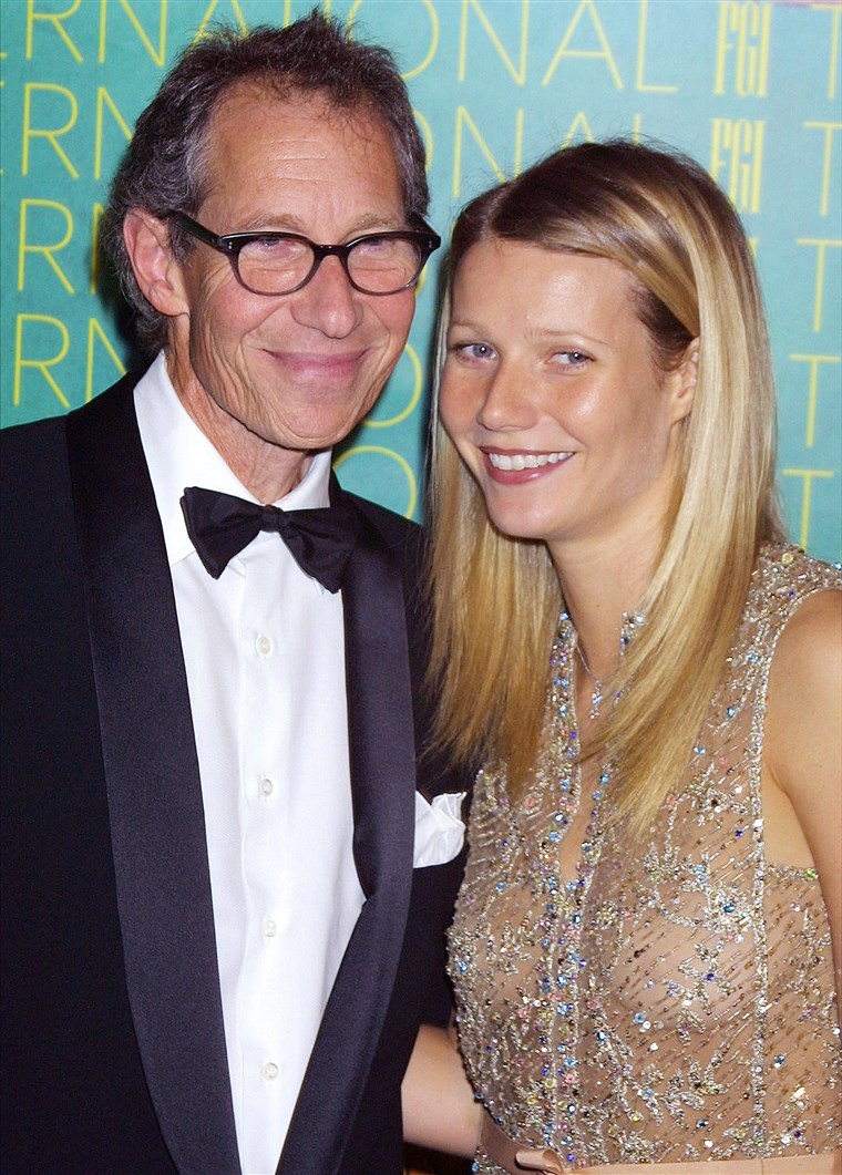 Bruce Paltrow and Gwyneth Paltrow