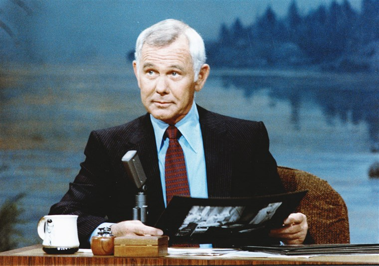 Johnny Carson on the