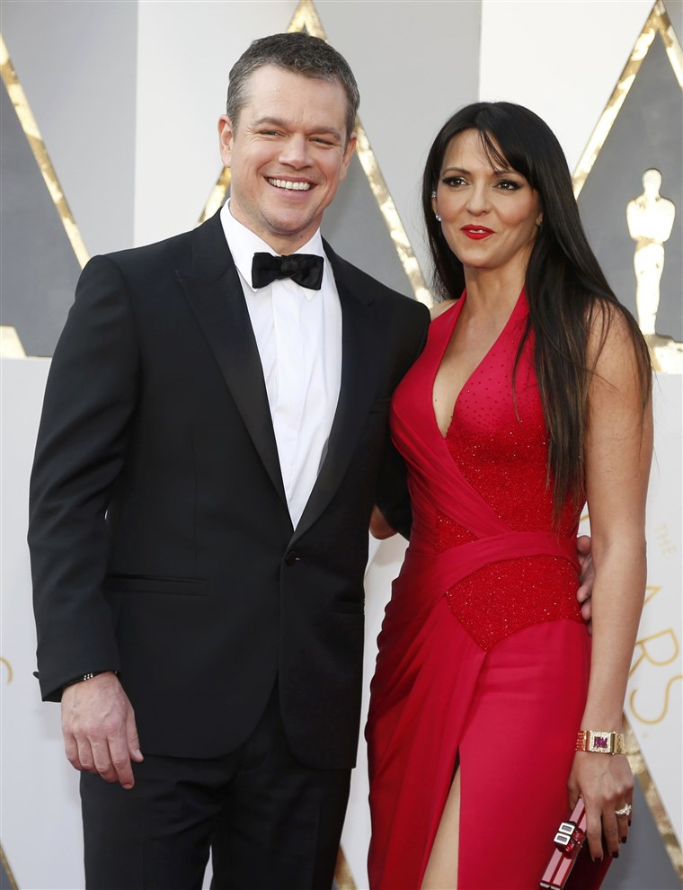 Изображение: Matt Damon, nominated for Best Actor for his role in