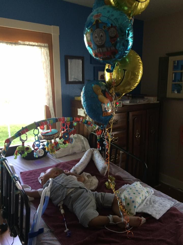 Charlie, who has been with the Salchert family since he was an infant, was not expected to live past two years old due to his life-limiting diagnosis. Charlie celebrated his second birthday - an amazing milestone - in June 2016, surrounded by family and friends.