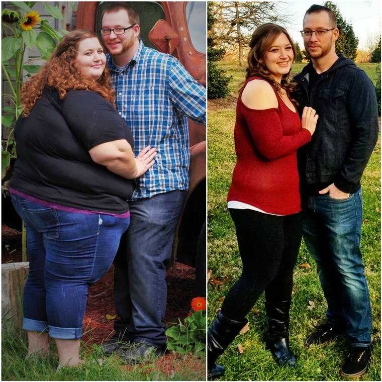 منذ shedding so much weight, Lexi and Danny Reed love that they can be so active. This summer they hiked, ran, rode rollercoasters, and took plane rides, all things that were difficult when they were overweight.
