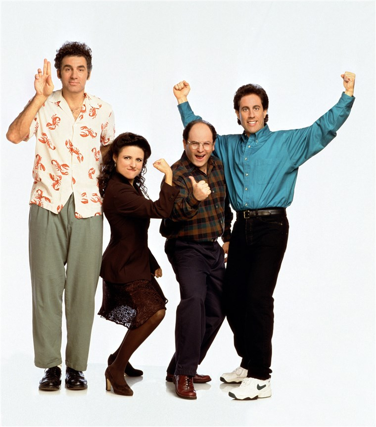 سينفيلد، Michael Richards, Julia Louis-Dreyfus, Jason Alexander, Jerry Seinfeld. Season 6. 1990 - 1