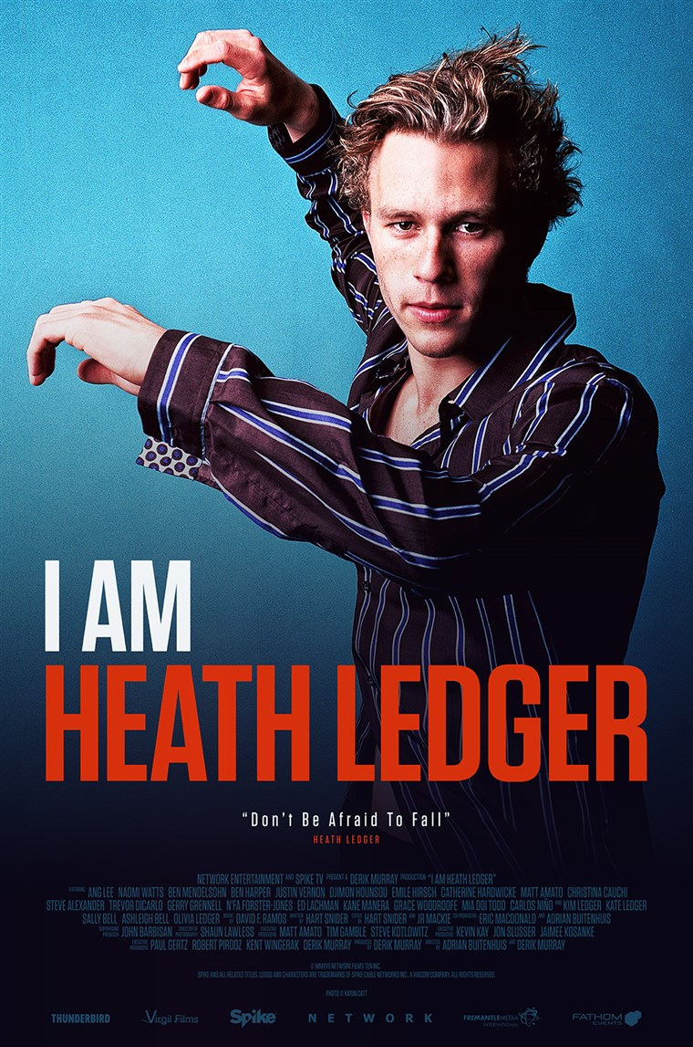аз am Heath Ledger poster