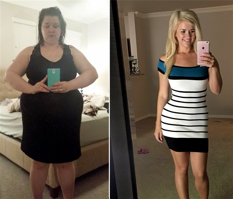 Christine Carter lost 150 pounds.