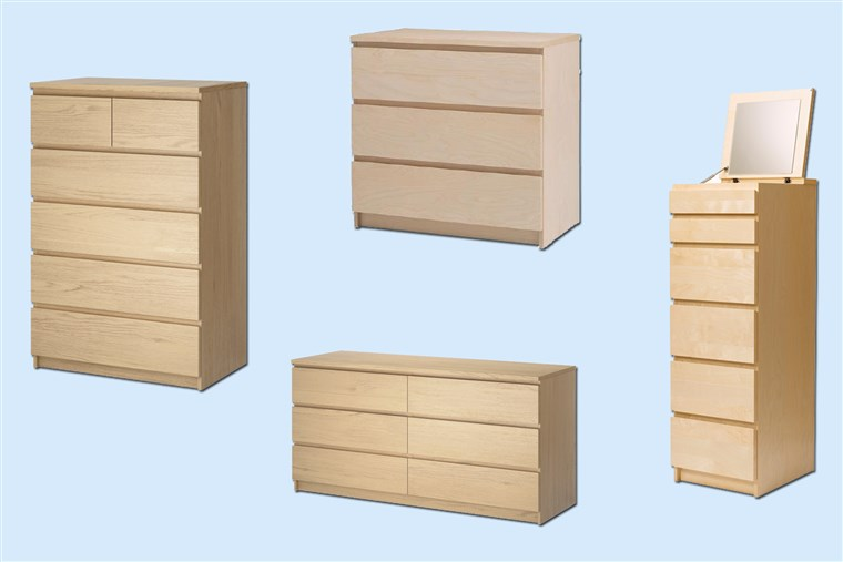 IKEA Reannounces Recall of MALM and Other Models of Chests and Dressers